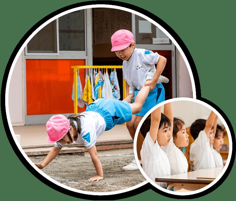 幼稚園    裸 みんな、はだか・はだし?   エンゼルガーデン幼稚園 千葉県 ...